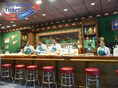 Flaming Moe's Tavern at Universal Orlando Springfield Attraction