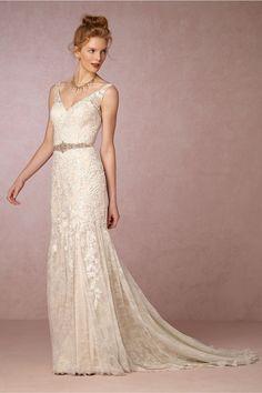 BHLDN Elisha Gown in  Bride Wedding Dresses Mermaid | BHLDN