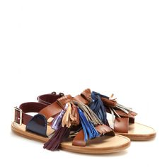 Isabel Marant, Clay tassel leather sandals.....I just lost my mind over these.