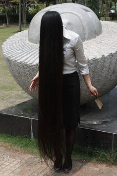 Really Long Hair