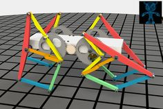 Walking Machine - SOLIDWORKS - 3D CAD model - GrabCAD
