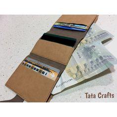 Cartera de kraft-tex   Tata Crafts
