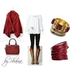I want to wear this right now, created by shauna-rogers on Polyvore
