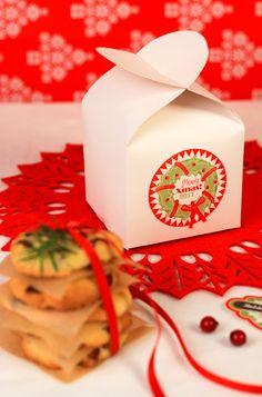 TeaRoom: Karácsonyi ajándék - Keksz dobozban