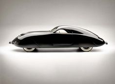 Rust Heinz & Maurice Schwartz ,Phantom Corsair, 1938. #EddieBorgo #Inspiration #Car #Black #White #RustHeinz , #MauriceSchwartz #Phantom #Corsair #Fashion #Shapes #Curves #Design