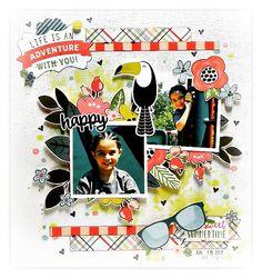 Happy - Echo Park - Summer Fun Collection