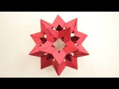(Origami Ball) Kusudama Star Holes, by Francesco Mancini.  http://www.flickr.com/photos/34002397@N06/  Made using 30 sheets of paper  Ratio = 3:4    Video by Tadashi Mori:  http://www.youtube.com/tadashimori  http://www.facebook.com/tadashiorigami    Diagram by J.C Nolan:  http://creatingorigami.com/collateral/pdfs/SIP_Assembly.pdf    Another video, by Evan...