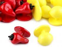 """Knoflík do rondonu velikost 28"""" Fruit, Food, Meal, The Fruit, Essen, Hoods, Meals, Eten"""