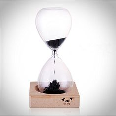 $6.99  9pig Magnetic Sand Timer Hourglass with Magnetic Iron Filings