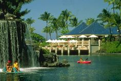 Waikoloa Village on the Big Island of Hawaii is the most gorgeous place I have ever stayed.  I want to go back some day.