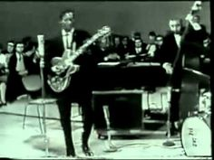 Classic Chuck Berry Moves.  Chuck Berry - Johnny B. Goode (Live 1958) - YouTube