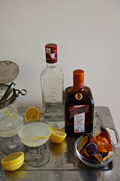 CO+LABS // #cocktails with @Karen Jacot Gaignon: setting up a home bar + white lady & whisky sour #cocktails #recipe