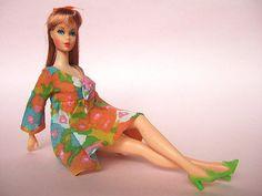 vintage Barbie in Flower Wower