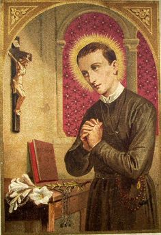 https://flic.kr/p/6oY4Rz   St Gerardus Majella   French devotional image of the Redemptorist saint Gerard Majella. Saint Gerard (April 6, 1726, Muro Lucano, Basilicata – October 16, 1755, Caposele, Campania) is a the saint whose intercession is requested for children (and unborn children in particular), childbirth, mothers and expectant mothers, motherhood, falsely accused people, good confessions, and lay brothers.