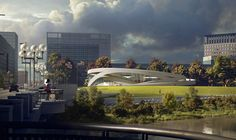 Allied Works Releases Design for Ohio Veterans Memorial and Museum in Columbus