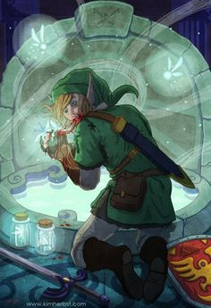 Items similar to Fairy Eater on Etsy Drawing Base, Video Game Art, Freelance Illustrator, Legend Of Zelda, Cute Art, Art Reference, Old School, Pop Culture, Illustration Art
