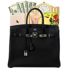 ✖ ❤ liked on Polyvore featuring bags, handbags, premades, purses, filler, hand bags, man bag, purse bag and handbag purse