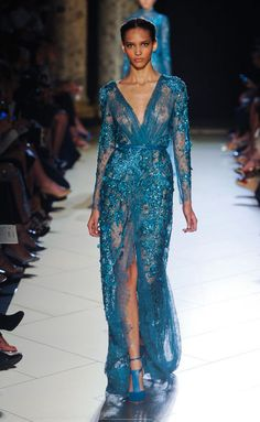 Elie Saab Haute Couture Fall-Winter 2012-2013.
