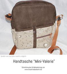 """Handtasche """"Mini-Valerie"""" genäht von maritabw"""