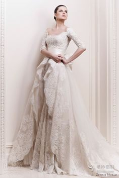 Could be a wedding dress..?