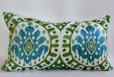 This Listing is for one 14x24 Pillow Cover in Manuel Canovas Bella    Fabric Details on Front: Manuel Canovas Embroidered Pillow Cover  Fabric