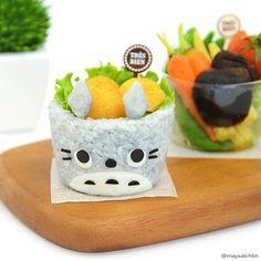 Totoro rice bowl bento