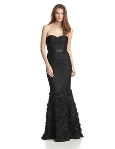 JS Collection Women's Strapless Shirr... $202.30