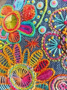 28 ideas for embroidery patterns mexican boho 28 Mexican Boho Embroidery Design Ideas Crewel Embroidery Kits, Embroidery Flowers Pattern, Embroidery Needles, Vintage Embroidery, Cross Stitch Embroidery, Embroidery Ideas, Embroidery Supplies, Mexican Embroidery, Embroidery Scissors