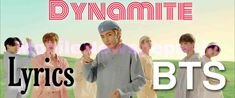 BTS - DYNAMITE LYRICS Like A Rolling Stone, Rolling Stones, Stars Tonight, Bring A Friend, Word Up, Bts, Songs To Sing, Contemporary Landscape, King Kong