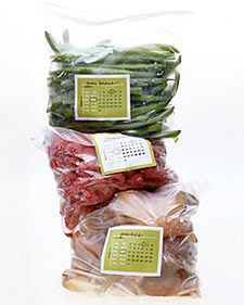 Downloadable freezer labels by Martha Stewart