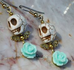 Day of the Dead Dia de los Muertos earrings