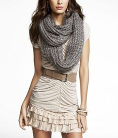 Infinity scarfs, best thing ever made for winter!