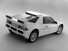 1984-86 Ford RS200: together with the Delta Intergrale and the 959 my ultimate ralleycar.