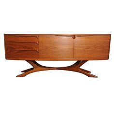 organic sideboard / credenza by Beithcraft.