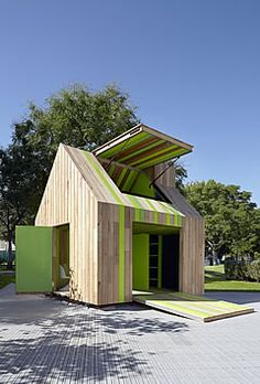 bd projects  with architects Nixon Tulloch Fortey, for the annual Cubby House Challenge in Melbourne. BTW - I love that we have an annual Cubby House Challenge.
