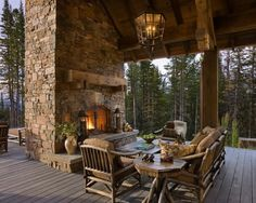 Patio Rustic Elegance Design, Pictures, Remodel, Decor and Ideas