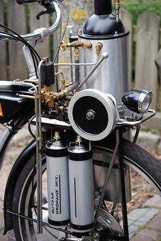 Vesuvius Steam Bike Kit