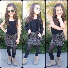 My kids will be stylish Little Girl Outfits, Little Girl Fashion, Toddler Fashion, Kids Outfits, Kids Fashion, Cute Outfits, Little Fashionista, Princess Style, Stylish Kids