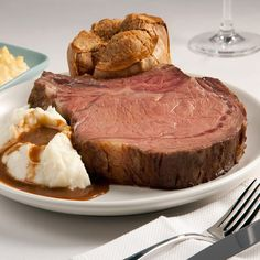 Lawry's Prime Rib and Steaks....Dallas and uptown swank...wonderful anniversary dinner! :)