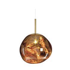 Melt Mini Pendant Gold by Tom Dixon