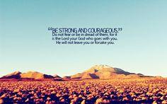He will not forsake you