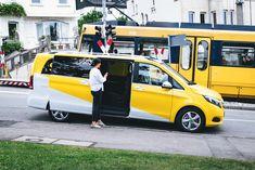 Der Service SSB Flex bündelt in drei Einsatzgebieten die Fahrtwünsche der Fahrgäste - er ist eine Kooperation von moovel und den Stuttgarter Straßenbahnen.