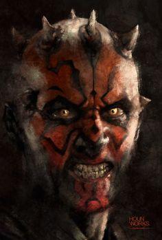 Star Wars - Darth Maul by Daniel Comerci *