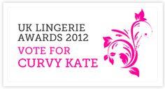 UK Lingerie Awards - Vote @CurvyKate http://www.uklingerieawards.com/vote-for-your-favourites/