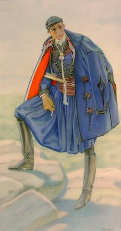 Αστική φορεσιά από την Κρήτη - Town costume from Crete. Chatzimichali Angeliki, Ελληνικαί Εθνικαί Ενδυμασίαι (Greek National Costumes). Athens: Benaki Museum, 1948
