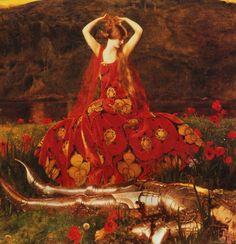La Belle Dame Sans Merci - Frank Cadogan Cowper