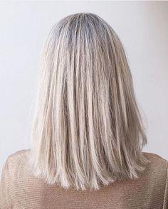 Crisp white blonde hair by @alisavanvaalen (Amsterdam zuid) #salonbnl #wellahair…