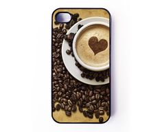 Iphone 4 Case - Coffee iPhone case for iPhone 4 / 4S. €10.00, via Etsy.