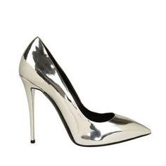 giuseppe zanotti | yvette metallic court shoes |