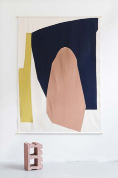 This New Italian Studio Makes Textiles Inspired by Modern Art – Sight Unseen Studio Testo, founded last year in Milan, designs textiles that are on-trend and easily understood, but packed with references to modern art. Palette Pastel, Modern Color Palette, Illustration Arte, Art Et Design, Textiles, Contemporary Abstract Art, Modern Artwork, Art Graphique, Textile Art